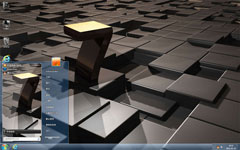 3D立體7win7電腦主題