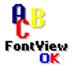 FontViewOK(字體瀏覽軟件) V5.61 多國語言綠色版