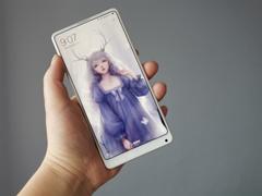 双11全平台首发!网友放出小米MIX 2全陶瓷尊享版上手视频