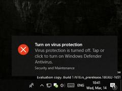 良心发现了?微软宣布解除Win10杀软限制