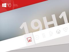 微软推送Win10 19H1快速预览版更新18361£¨附更新内容£©