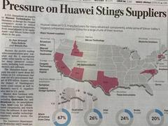 刺痛供应商£¡华尔街日报谈美国施压华为