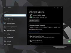微軟:仍將推出Win10非安全修復補丁更新