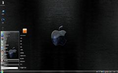 质感苹果桌面win7主题下载