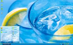冰爽柠檬xp系统主题