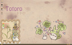 Totoro xp免费主题