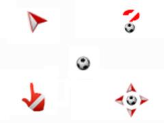 活力十射足球鼠標指針