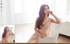 韩国女星崔智娜xp主题