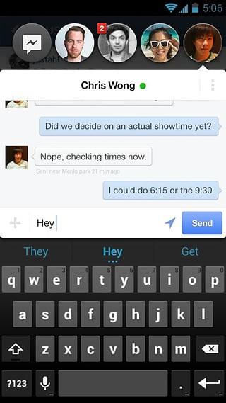 Facebook Messenger(聊天工具) v54.0.0.11.74