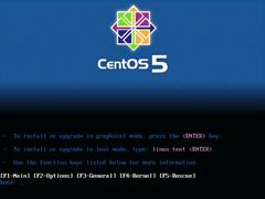 CentOS 5.0 x86_64官方正式版系统(64位)
