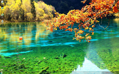美丽清爽的山水风景Win7主题