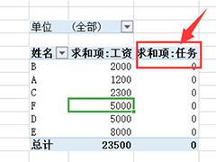 wps表格怎么在數據透視表插入計算字段?wps數據透視表插入計算字段的方法
