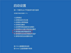 Win10專業版如何禁用驅動程序強制簽名?