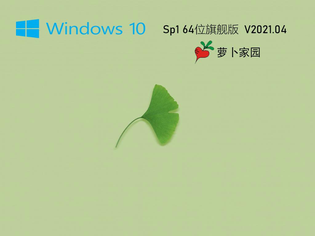 萝卜家园Ghost Win10 64位专业珍藏版 V2021.04