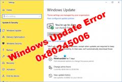 Win11系统更新失败错误代码0x80245006怎么解决?