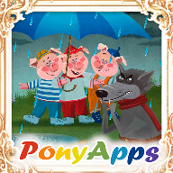 Three Little Pigs. Read & Play v1.7