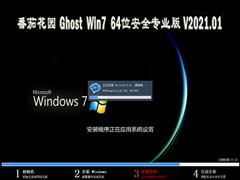 番茄花园 GHOST WIN7 64位安全专业版 V2021.01