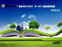雨林木风GHOST XP SP3 U盘通用装机版 V2021.03